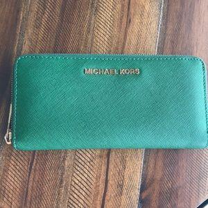 Michael Kors Emerald Green wallet